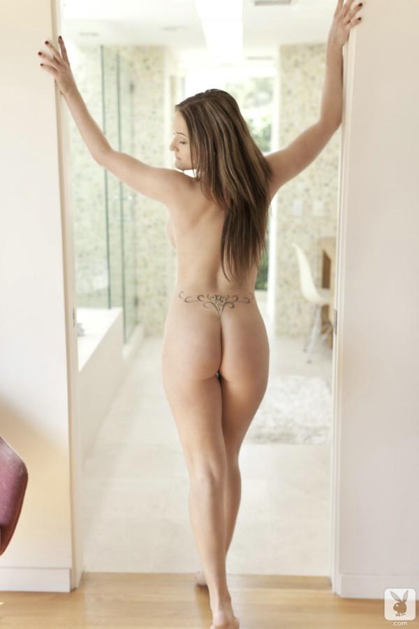 monique in shower nude