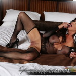 Rachel Aziani - Black Fishnet