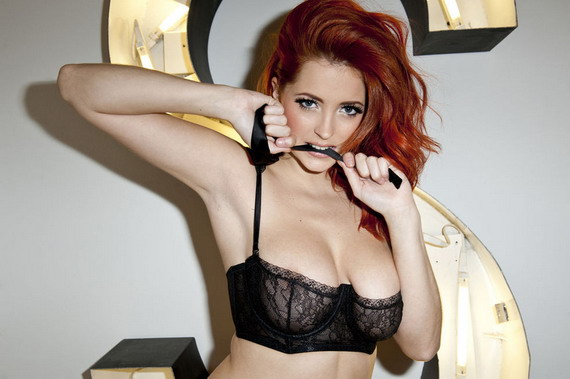 Lucy Collett - Nuts Photoshoot