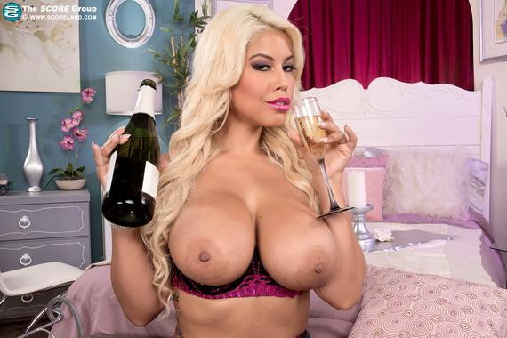 Bridgette B - Blonde, Busty & Bubbly