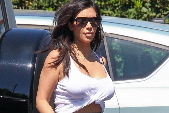 Kim Kardashian - Bunim Murray Production Office in LA
