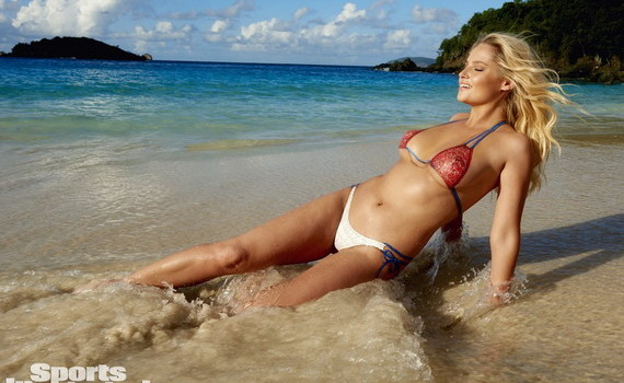Genevieve Morton - Sports Illustrated Swimsuit Issue 2015