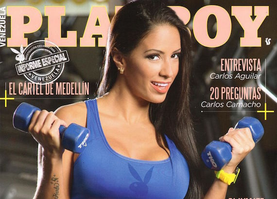 Gaby Rojas - Playboy  Venezuela