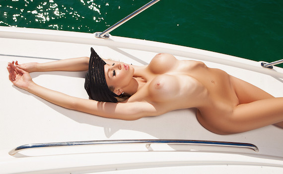 Khloë Terae - Hot on the Yacht
