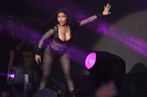 Nicki Minaj - New Look Wireless Festival in London