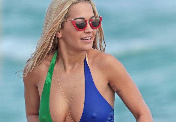 Rita Ora Bikini and Nipple Penetration and other Busty Links