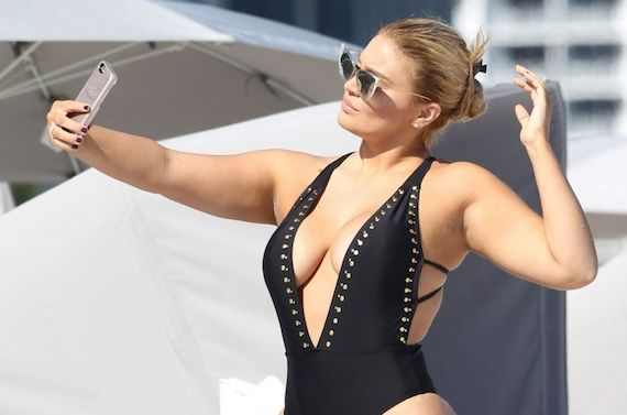 Andrea Gaviria in a Swimsuit and other Busty Links